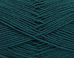 Fiber Content 70% Acrylic, 30% Wool, Brand ICE, Dark Green, Yarn Thickness 4 Medium  Worsted, Afghan, Aran, fnt2-52608