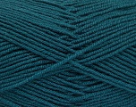 Fiber Content 70% Acrylic, 30% Wool, Teal, Brand Ice Yarns, Yarn Thickness 4 Medium  Worsted, Afghan, Aran, fnt2-52609