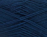 Fiber Content 70% Acrylic, 30% Wool, Navy, Brand ICE, Yarn Thickness 4 Medium  Worsted, Afghan, Aran, fnt2-52612