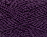 Fiber Content 70% Acrylic, 30% Wool, Purple, Brand Ice Yarns, Yarn Thickness 4 Medium  Worsted, Afghan, Aran, fnt2-52614