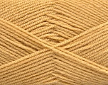 Fiber Content 100% Baby Acrylic, Brand Ice Yarns, Cafe Latte, Yarn Thickness 2 Fine  Sport, Baby, fnt2-52630