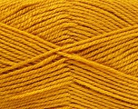 Worsted  Fiber Content 100% Acrylic, Brand Ice Yarns, Gold, Yarn Thickness 4 Medium  Worsted, Afghan, Aran, fnt2-52671
