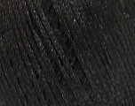 Fiber Content 100% Polyamide, Brand Ice Yarns, Black, Yarn Thickness 2 Fine  Sport, Baby, fnt2-52709