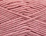 Fiber Content 80% Acrylic, 20% Polyamide, Rose Pink, Brand Ice Yarns, Yarn Thickness 5 Bulky  Chunky, Craft, Rug, fnt2-52914