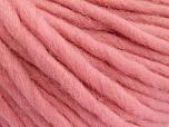 Fiber Content 100% Australian Wool, Pink, Brand Ice Yarns, Yarn Thickness 6 SuperBulky  Bulky, Roving, fnt2-52943