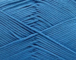 Baby cotton is a 100% premium giza cotton yarn exclusively made as a baby yarn. It is anti-bacterial and machine washable! Fiber Content 100% Giza Cotton, Light Blue, Brand ICE, Yarn Thickness 3 Light  DK, Light, Worsted, fnt2-53073