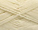Fiber Content 50% Acrylic, 50% Bamboo, Brand ICE, Cream, Yarn Thickness 2 Fine  Sport, Baby, fnt2-53091