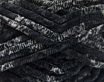 Fasergehalt 100% Mikrofaser, Brand Ice Yarns, Grey Shades, Black, Yarn Thickness 6 SuperBulky  Bulky, Roving, fnt2-53100