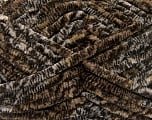 Fasergehalt 100% Mikrofaser, Brand Ice Yarns, Cream, Brown Shades, Yarn Thickness 6 SuperBulky  Bulky, Roving, fnt2-53102