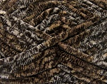 Fiber Content 100% Micro Fiber, Brand Ice Yarns, Cream, Brown Shades, Yarn Thickness 6 SuperBulky  Bulky, Roving, fnt2-53102