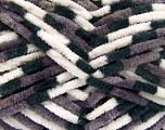 Fiber indhold 100% Micro Fiber, White, Brand Ice Yarns, Grey, Black, Yarn Thickness 4 Medium  Worsted, Afghan, Aran, fnt2-53108