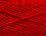 Fiber Content 100% Acrylic, Red, Brand ICE, Yarn Thickness 5 Bulky  Chunky, Craft, Rug, fnt2-53183