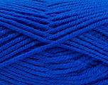 Fiber Content 100% Acrylic, Brand Ice Yarns, Bright Blue, Yarn Thickness 5 Bulky  Chunky, Craft, Rug, fnt2-53189