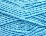 Fiber Content 100% Acrylic, Brand ICE, Baby Blue, Yarn Thickness 5 Bulky  Chunky, Craft, Rug, fnt2-53191