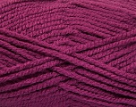 Fiber Content 100% Acrylic, Brand Ice Yarns, Dark Orchid, Yarn Thickness 5 Bulky  Chunky, Craft, Rug, fnt2-53195