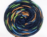 Fiber Content 80% Acrylic, 20% Polyamide, Navy, Brand Ice Yarns, Green, Cafe Latte, Blue, Yarn Thickness 4 Medium  Worsted, Afghan, Aran, fnt2-53209