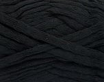 Fiber Content 100% Cotton, Brand Ice Yarns, Black, Yarn Thickness 5 Bulky  Chunky, Craft, Rug, fnt2-53215