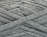 Fiber Content 100% Cotton, Light Grey, Brand ICE, Yarn Thickness 5 Bulky  Chunky, Craft, Rug, fnt2-53217