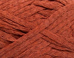 Fiber Content 100% Cotton, Brand ICE, Copper, Yarn Thickness 5 Bulky  Chunky, Craft, Rug, fnt2-53221