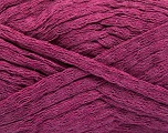 Fiber Content 100% Cotton, Brand Ice Yarns, Dark Orchid, Yarn Thickness 5 Bulky  Chunky, Craft, Rug, fnt2-53227