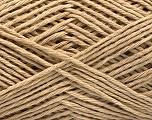 Fiber Content 45% Cotton, 45% Polyamide, 10% Cashmere, Brand Ice Yarns, Beige, fnt2-53293