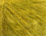 Fiber Content 8% Polyamide, 60% Acrylic, 2% Elastan, 15% Alpaca, 15% Wool, Yellow, Brand ICE, Green, Yarn Thickness 4 Medium  Worsted, Afghan, Aran, fnt2-53296