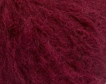 Fiber Content 8% Polyamide, 60% Acrylic, 2% Elastan, 15% Alpaca, 15% Wool, Brand ICE, Burgundy, Yarn Thickness 4 Medium  Worsted, Afghan, Aran, fnt2-53299