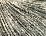 Conţinut de fibre 64% Bumbac, 22% Alpaca Superfine, 14% Lână, Brand Ice Yarns, Grey, Cream, fnt2-53308