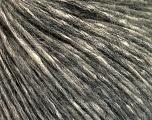 Conţinut de fibre 64% Bumbac, 22% Alpaca Superfine, 14% Lână, Brand Ice Yarns, Dark Grey, Cream, fnt2-53309