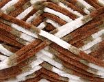 Fiber indhold 100% Micro Fiber, White, Brand Ice Yarns, Camel, Brown, fnt2-53330