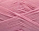 Fiber Content 50% Acrylic, 50% Bamboo, Brand ICE, Baby Pink, Yarn Thickness 2 Fine  Sport, Baby, fnt2-53332