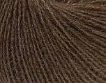 Fiber Content 50% Acrylic, 25% Alpaca, 25% Merino Wool, Brand ICE, Brown, Yarn Thickness 2 Fine  Sport, Baby, fnt2-53349