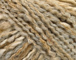 Please note that this is a self-striping yarn and self-effecting. Please see knitted sample to see the color and effect variation. Fiber Content 38% Wool, 32% Acrylic, 20% Alpaca, 10% Polyamide, Light Grey, Light Brown, Brand ICE, Cream, Yarn Thickness 4 Medium  Worsted, Afghan, Aran, fnt2-53372
