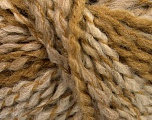 Please note that this is a self-striping yarn and self-effecting. Please see knitted sample to see the color and effect variation. Fiber Content 38% Wool, 32% Acrylic, 20% Alpaca, 10% Polyamide, Light Brown, Brand Ice Yarns, Cream, Beige, Yarn Thickness 4 Medium  Worsted, Afghan, Aran, fnt2-53373
