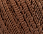 Fiber Content 66% Cotton, 34% Polyamide, Brand ICE, Brown, Yarn Thickness 3 Light  DK, Light, Worsted, fnt2-53433