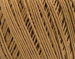 Fiber Content 66% Cotton, 34% Polyamide, Light Brown, Brand Ice Yarns, Yarn Thickness 3 Light  DK, Light, Worsted, fnt2-53434