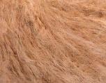 Fiber Content 45% Acrylic, 25% Wool, 20% Mohair, 10% Polyamide, Light Salmon, Brand ICE, Yarn Thickness 4 Medium  Worsted, Afghan, Aran, fnt2-53460