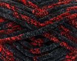 Fiber indhold 100% Micro Fiber, Red, Brand Ice Yarns, Black, fnt2-53490