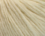 Fiber Content 50% Acrylic, 50% Wool, Brand ICE, Cream, Yarn Thickness 4 Medium  Worsted, Afghan, Aran, fnt2-53508