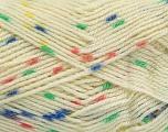 Conţinut de fibre 100% Acrilic, Yellow, Salmon, Brand Ice Yarns, Green, Cream, Blue, fnt2-53526
