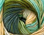 Fiber Content 100% Acrylic, White, Brand Ice Yarns, Grey, Green Shades, Camel, Yarn Thickness 4 Medium  Worsted, Afghan, Aran, fnt2-53531