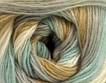 Fiber Content 60% Acrylic, 20% Wool, 20% Angora, White, Olive Light Green, Mint Green, Brand Ice Yarns, Grey, Yarn Thickness 2 Fine  Sport, Baby, fnt2-53560