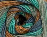 Fiber Content 60% Acrylic, 20% Wool, 20% Angora, Mint Green, Brand Ice Yarns, Grey, Brown, Blue, Yarn Thickness 2 Fine  Sport, Baby, fnt2-53563