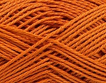 Fiber Content 60% Viscose, 40% Cotton, Orange, Brand Ice Yarns, fnt2-53593