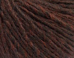 Fiber Content 50% Wool, 50% Acrylic, Brand Ice Yarns, Brown Melange, fnt2-53614