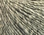 Fiber Content 50% Acrylic, 50% Wool, Brand Ice Yarns, Grey, Cream, Yarn Thickness 4 Medium  Worsted, Afghan, Aran, fnt2-53618
