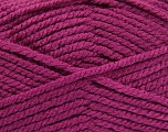 Fiber Content 100% Acrylic, Brand ICE, Dark Orchid, Yarn Thickness 5 Bulky  Chunky, Craft, Rug, fnt2-53648