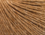 Fiber Content 75% Baby Alpaca, 25% Polyamide, Light Brown, Brand Ice Yarns, fnt2-53651