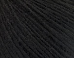 Fiber Content 50% Wool, 50% Acrylic, Brand Ice Yarns, Black, Yarn Thickness 3 Light  DK, Light, Worsted, fnt2-53679
