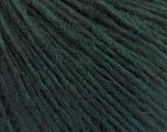 Fiber Content 50% Wool, 50% Acrylic, Brand Ice Yarns, Dark Green, Yarn Thickness 3 Light  DK, Light, Worsted, fnt2-53681